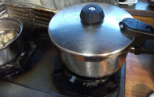 マクロビオテイック料理・玄米の炊き方4