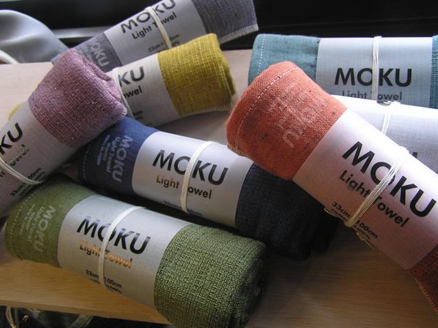 【新シリーズMOKU】軽くて乾きやすくてコンパクトな手ぬぐいタオル