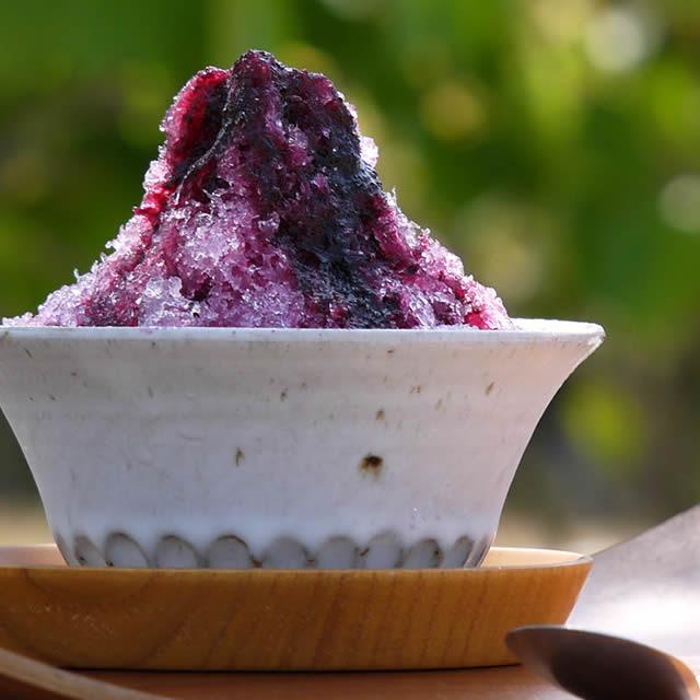削氷けずりひ かき氷生シロップ ぶどう シナノパープル