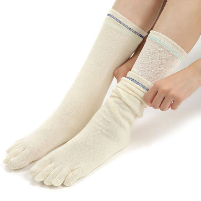 布ナプキンと「重ねばき靴下」