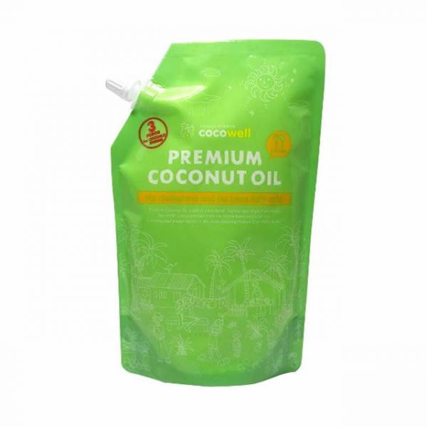 プレミアムココナッツオイルのパッケージが変わりました!