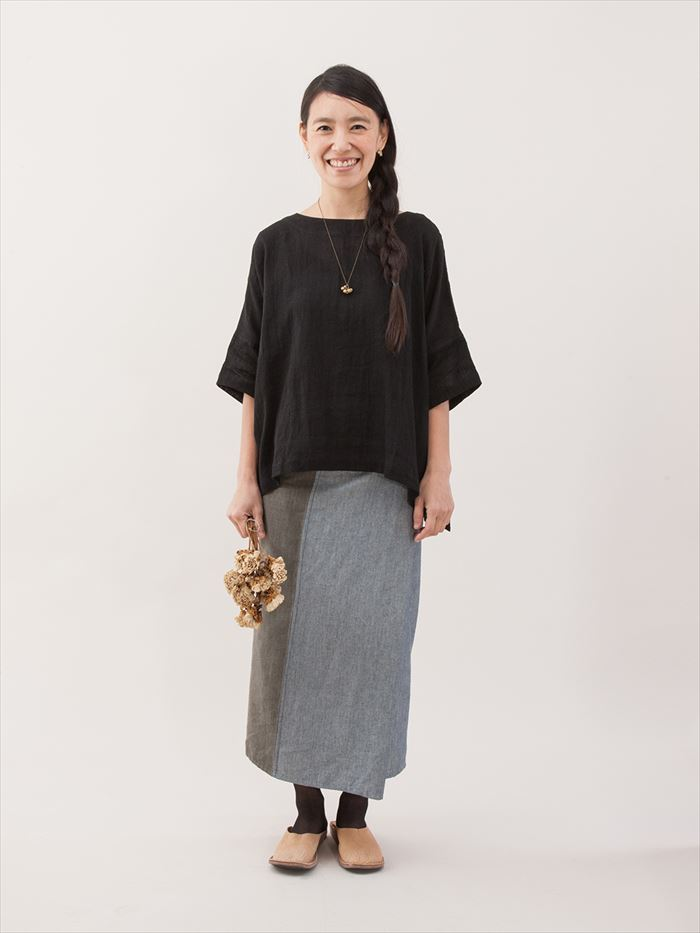 究極のフリーサイズ サロンスカート シサム工房