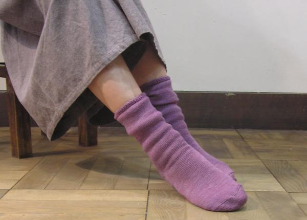 雨の日はウールの靴下がおすすめ