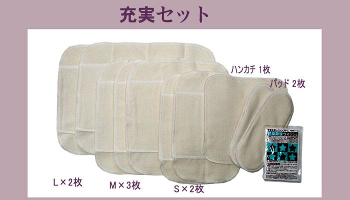 布ナプキン充実セット